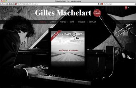 Site du Gilles Machelart Trio