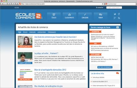 Site École2Commerce